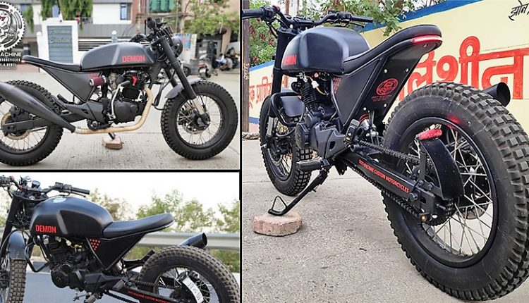 Meet KGF Bike (Modified Hero Karizma) by Dirt Machine Customs