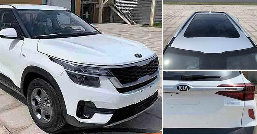 Kia KX3 Spotted in China