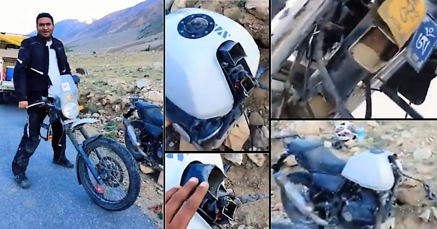 Royal Enfield Himalayan Breaks