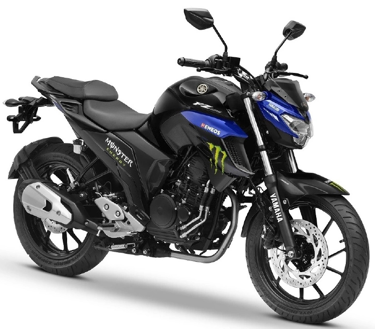 Yamaha FZ25 Monster Energy Edition