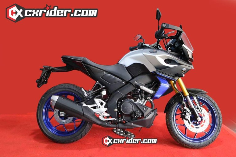 Yamaha MT-15 Tracer Rendered Image