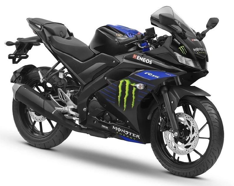 Yamaha R15 V3 Monster Energy Edition Launched