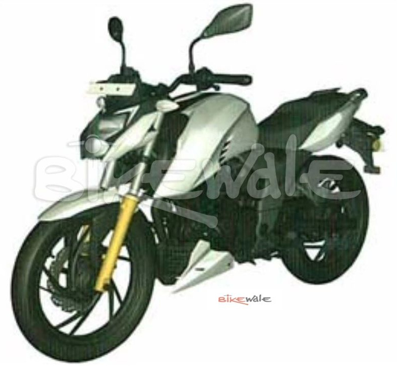 2020 TVS Apache RTR 160 4V Photo Leaked