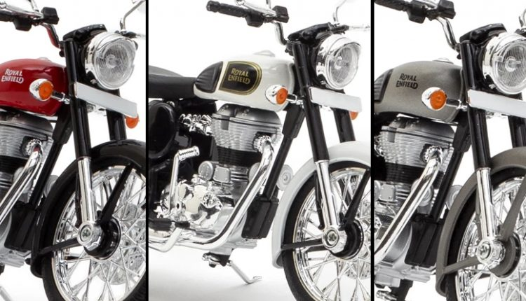 Mini-Me Royal Enfield Classic Gets New Colours; Priced at INR 1200