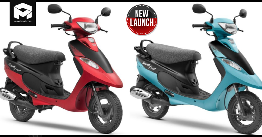 TVS Scooty Pep Plus Matte Edition Launched