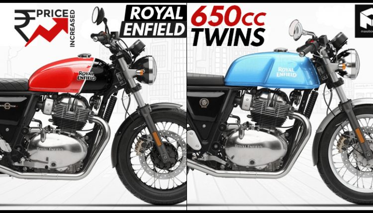 Royal Enfield 650 Twins Get Price Hike: Old Prices vs New Prices
