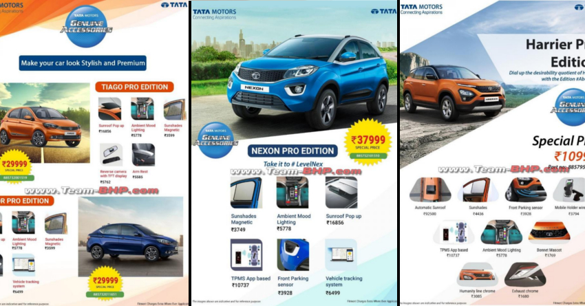 Tata PRO Package Cars Price List