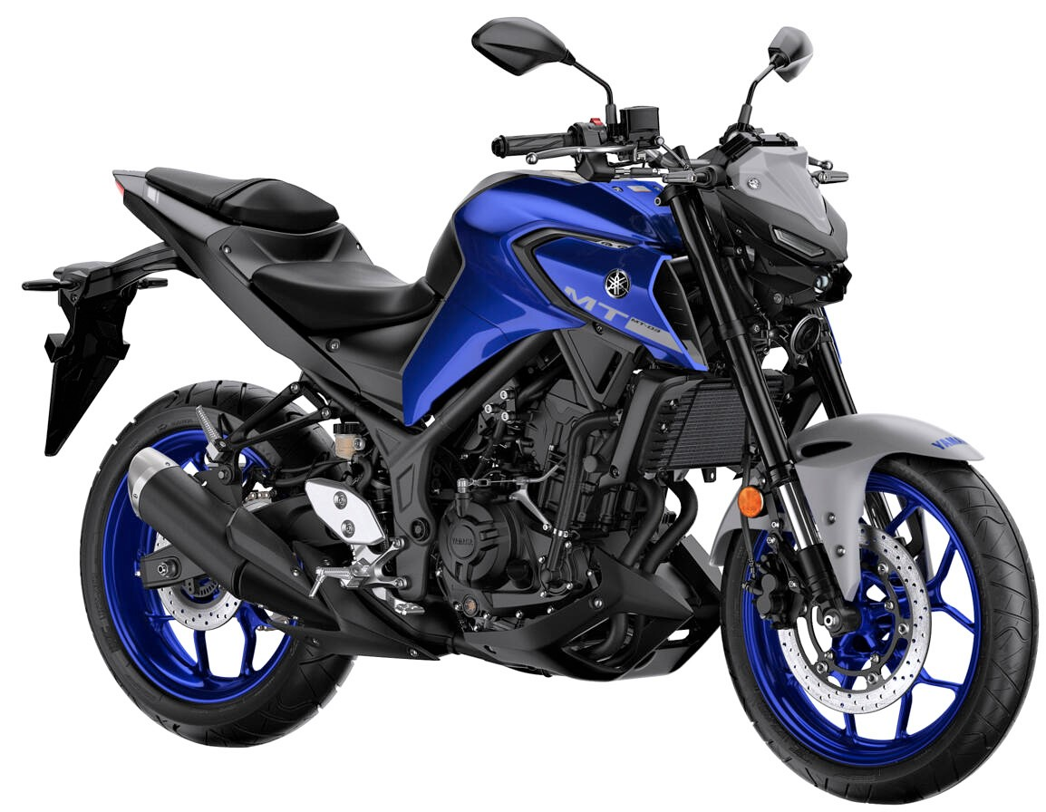 2020 Yamaha MT-03 Icon Blue