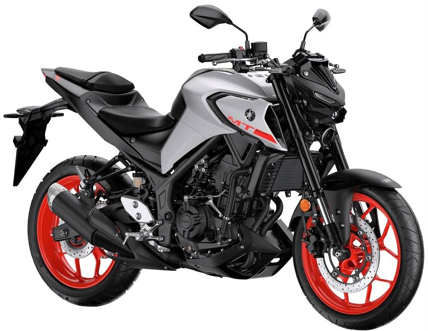 2020 Yamaha MT-03 Ice Fluo