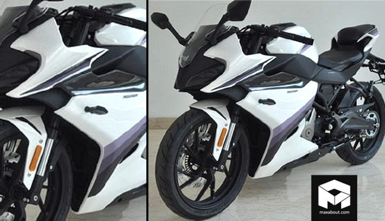Production-Ready CFMoto 250SR Sportbike Spotted Again