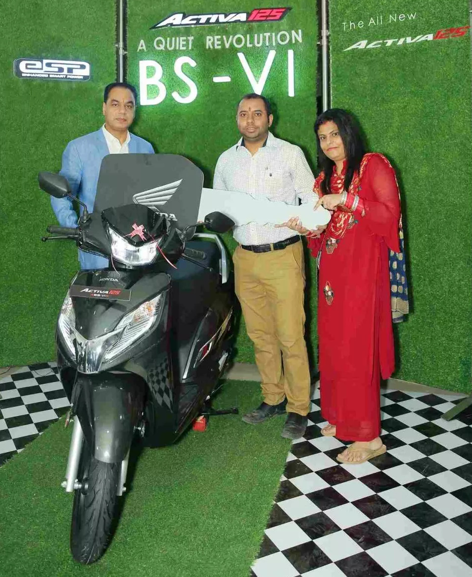 BS6 Honda Activa 125 Fi Deliveries
