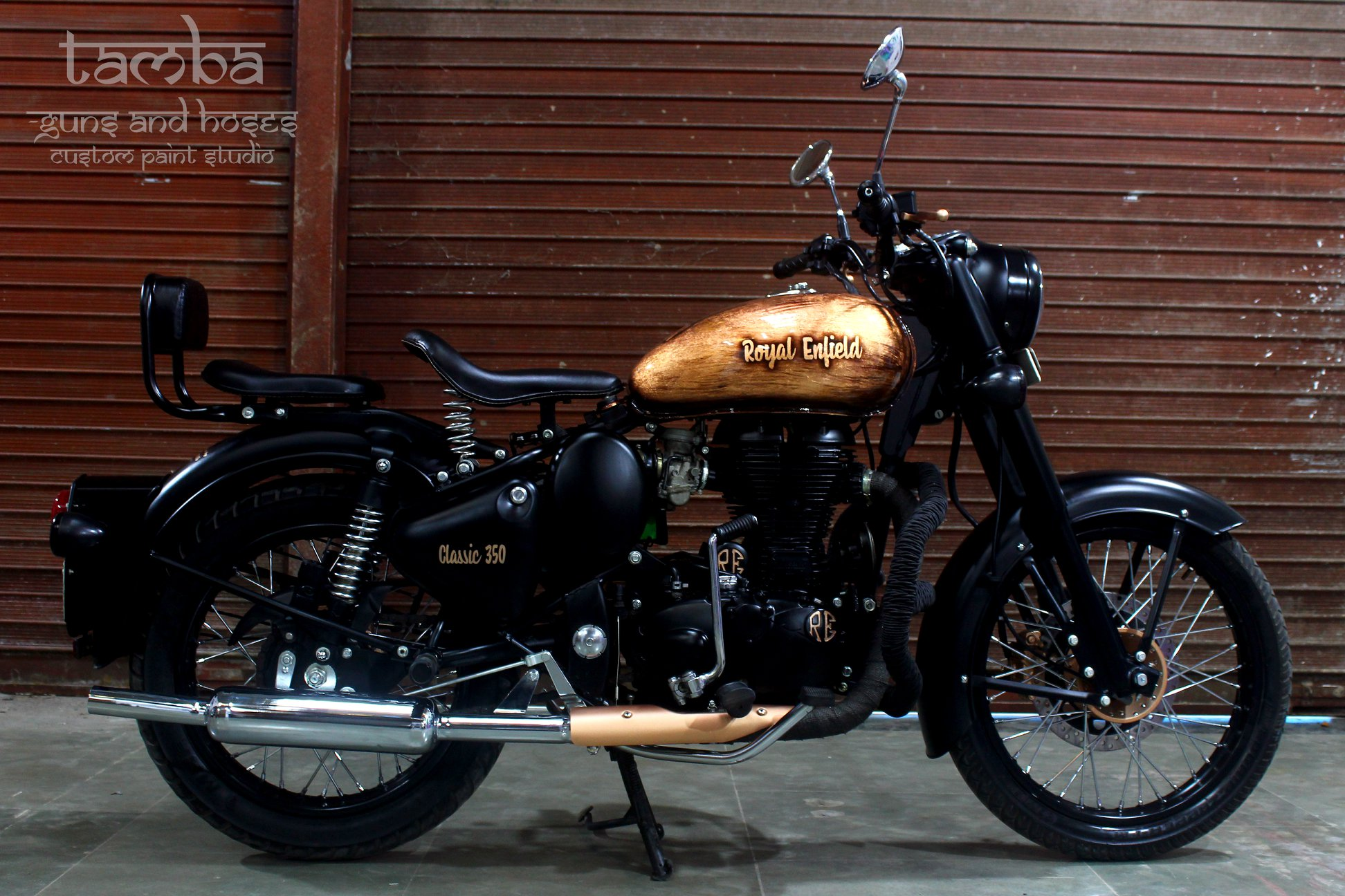 Meet Royal Enfield Classic 350 TAMBA