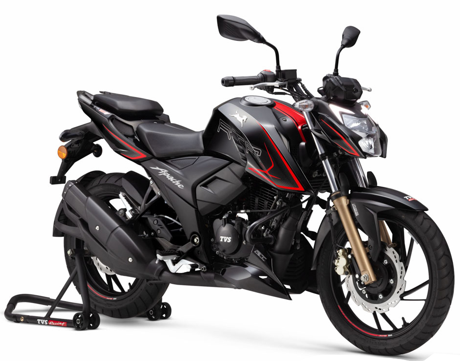 TVS Apache RTR 200 4V with Super-Moto ABS