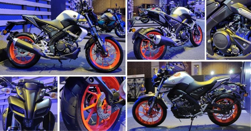 2020 BS6 Yamaha MT-15 Officially Revealed