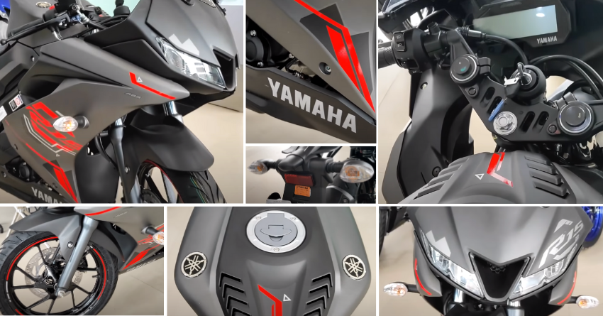 Thunder Grey Yamaha R15 V3 Walkaround Video