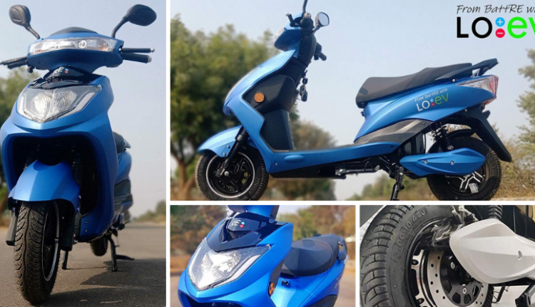 BattRE LoEV Electric Scooter Launched @ INR 64,990