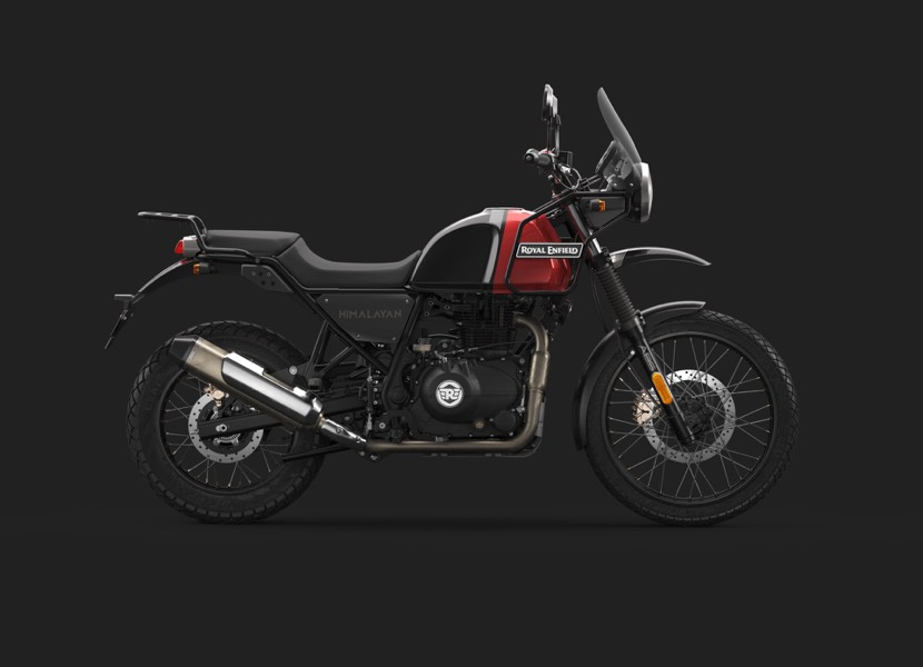 2020 Royal Enfield Himalayan Rock Red