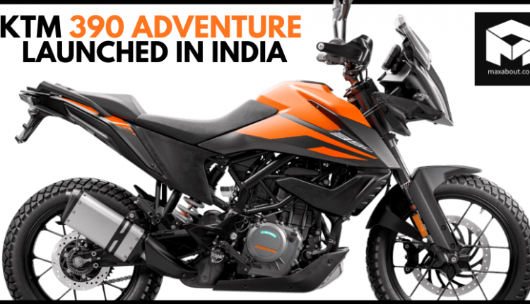 KTM 390 Adventure Launched in India @ INR 2.99 Lakh