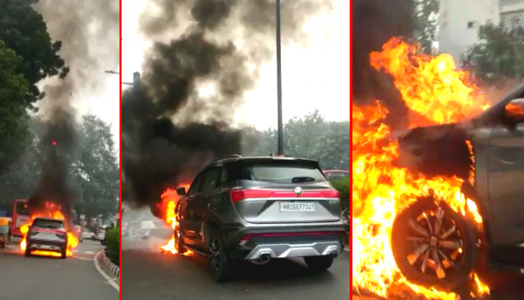 Here's Why MG Hector Caught Fire in Delhi; Owner Issues Statement