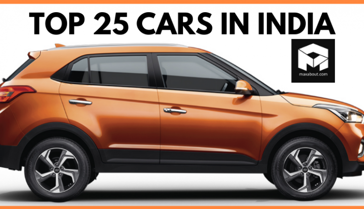 Top 25 Best-Selling Cars in India in December 2019