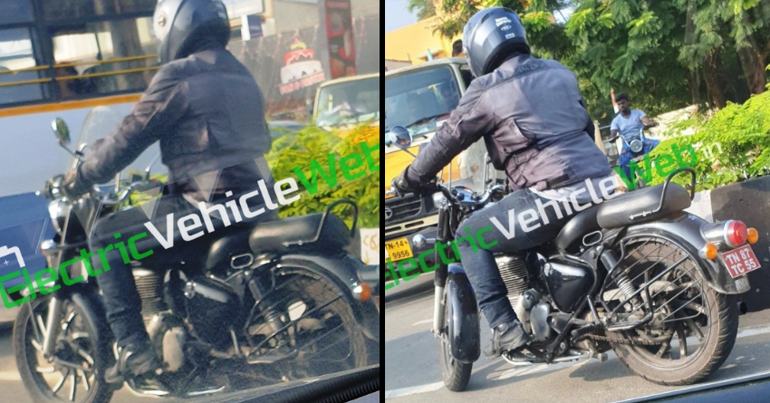 Accessorized Version of Next-Gen Royal Enfield Classic