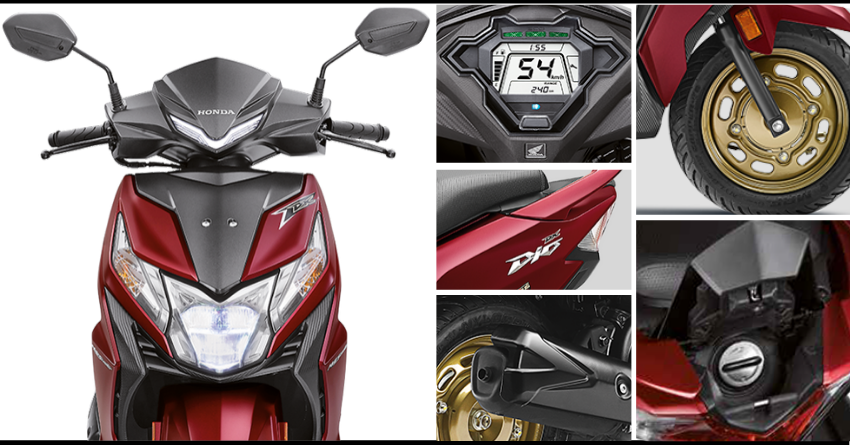 BS6 2020 Honda Dio Launched