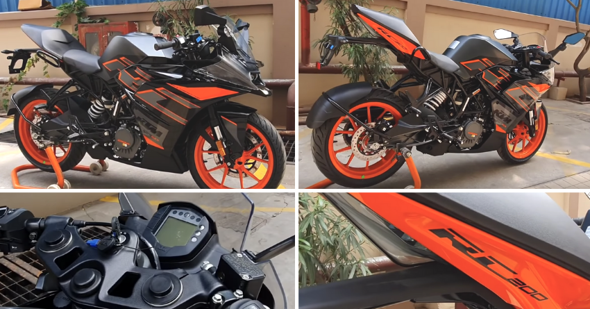 2020 KTM RC 200 Walkaround Review