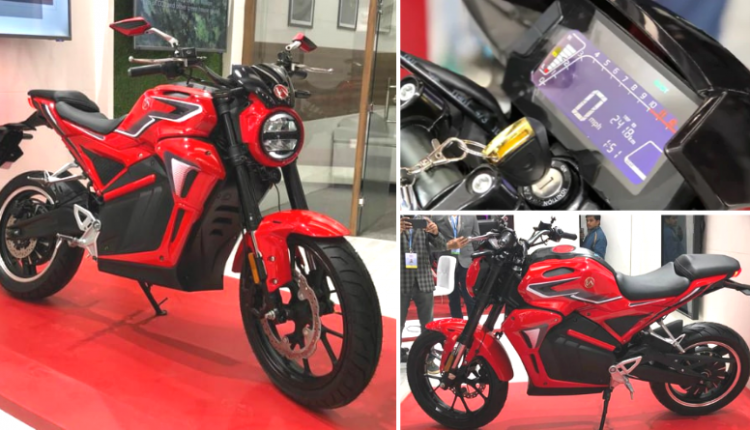Hero Electric AE-47 Premium Motorcycle Officially Unveiled
