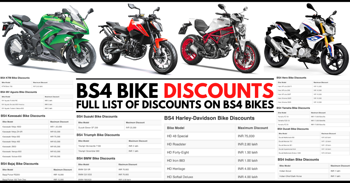 BS4 Bike Discounts