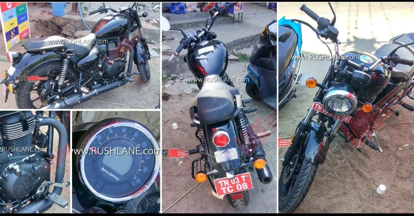 Royal Enfield Meteor Spotted Undisguised