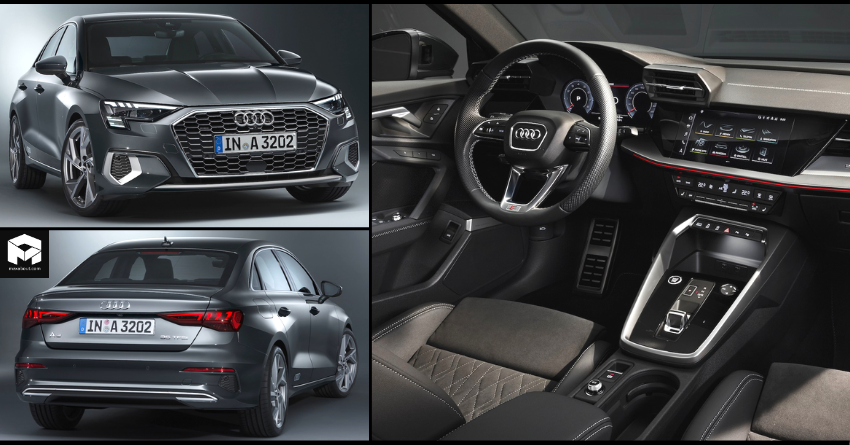 New Audi A3 Sedan Officially Revealed; India Launch in 2021