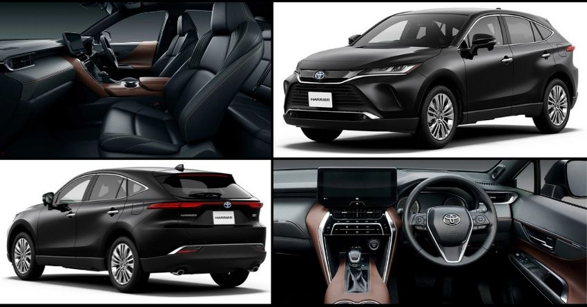2021 Toyota Harrier SUV Officially Revealed