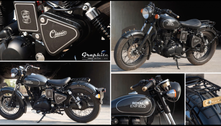 Meet Royal Enfield Classic Graphite by EIMOR Customs