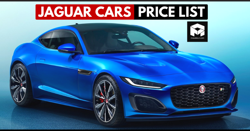 Latest Price List of Jaguar Cars