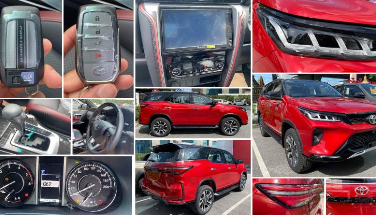 32 Live Photos of Emotional Red Toyota Fortuner Legender