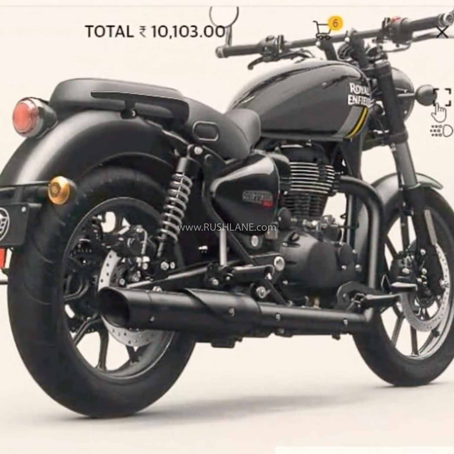 Accessorized Version of Royal Enfield Meteor 350