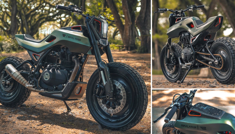 Royal Enfield Himalayan SG-411 with Showa, Ohlins and Nissin Parts