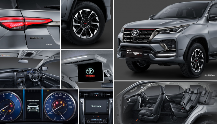 2021 Toyota Fortuner TRD Sportivo Officially Revealed