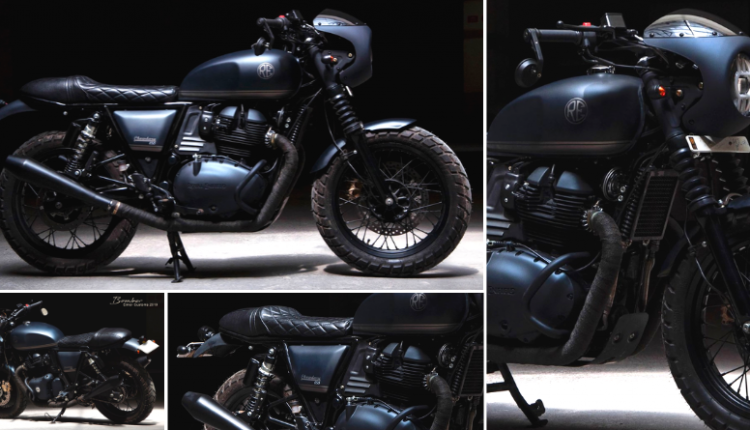 Meet Royal Enfield BOMBER 650 by EIMOR Customs