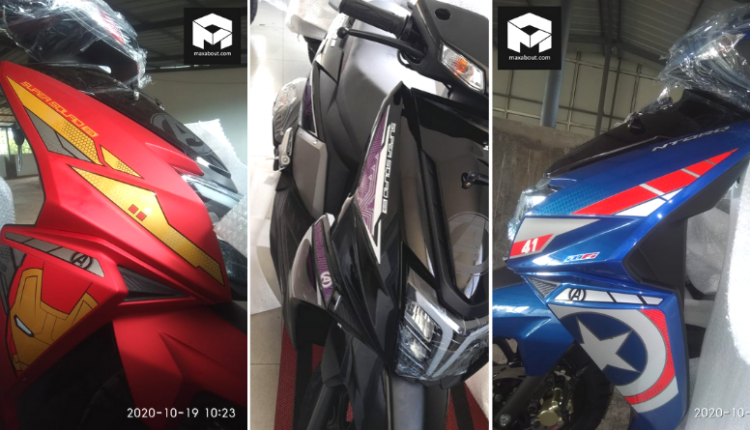TVS Ntorq Marvel Avengers Edition Spotted; Launch Soon