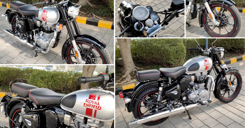Metallo Silver Royal Enfield Classic 350