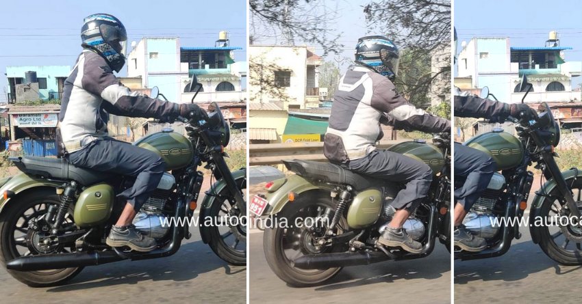 Jawa 42 Alloy Wheel Version Spotted