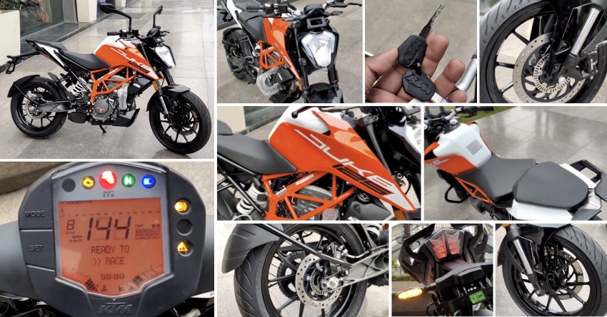 Next-Gen KTM Duke 125 Walkaround Video