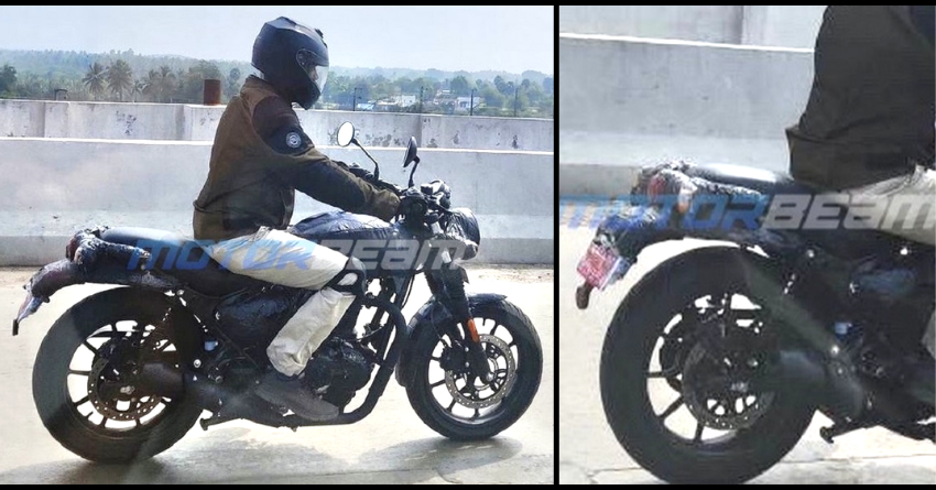 Royal Enfield Hunter Spotted Testing