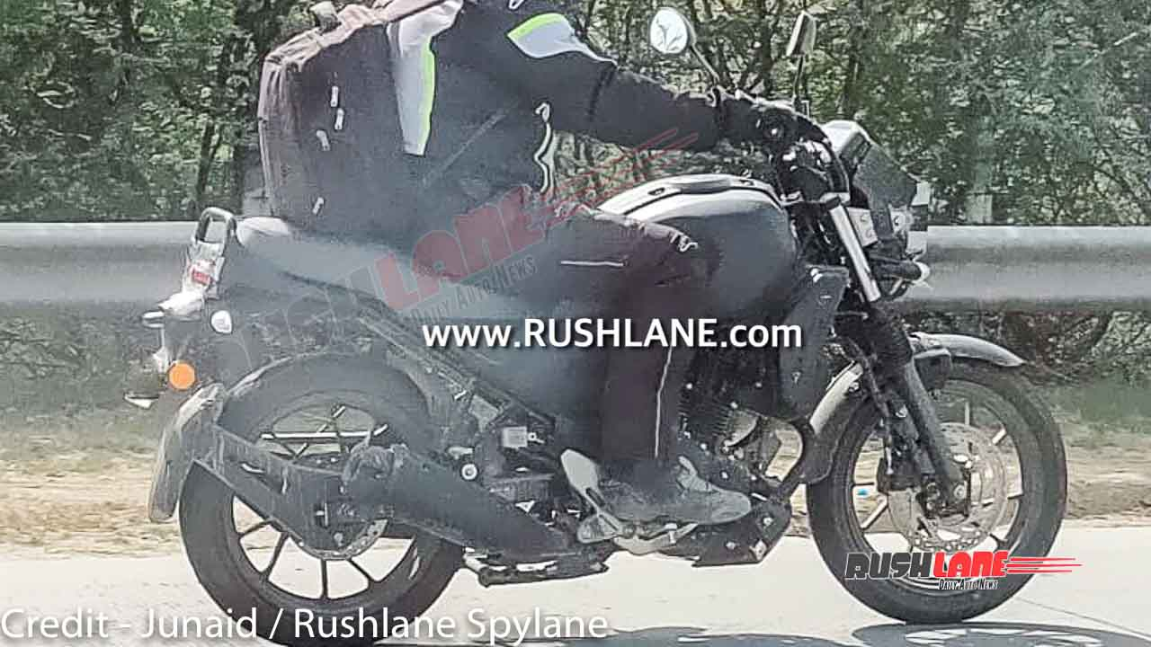 Side View of Yamaha XSR250